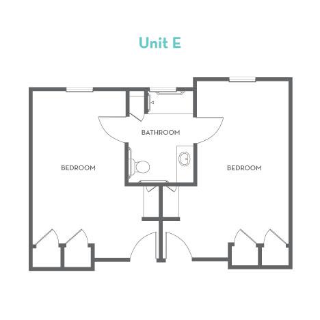 Heartis Waco Unit E Floorplan